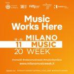 MMW 2020: dal 16 al 22 novembre la settimana dedicata alla musica