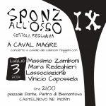 SPONZ ALL'OSSO – Costola reggiana: al via l'anteprima del festival diretto da Vinicio Capossela