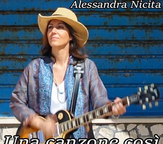 """ALESSANDRA NICITA: esce il nuovo singolo """"UNA CANZONE COSÌ"""""""