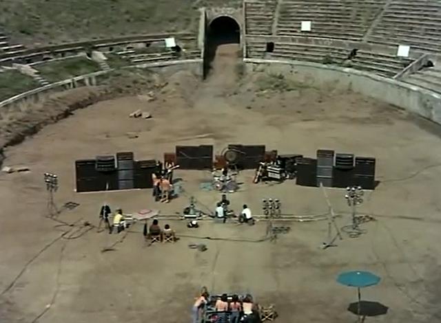 Un docufilm evento per le celebrazioni del 50° anniversario dalle riprese di 'Pink Floyd: live at Pompeii'